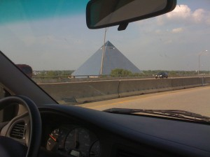 Memphis doesn't have an arch, but they do have a Pyramid.
